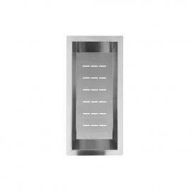 الفولاذ المقاوم للصدأ وعاء مصفاة - Nivito CU-WB-200-B