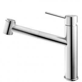 الفولاذ المقاوم للصدأ صنبور المطبخ خرطوم السحب - Nivito EX-800